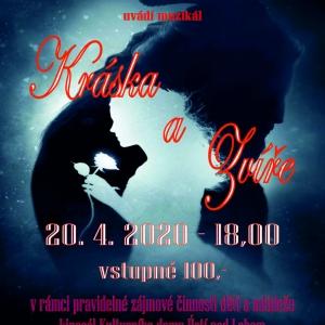 Kráska a Zvíře - 20. 4. 2020 - 18,00 - plakát