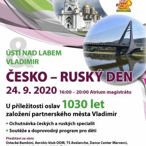 Plakát Česko-Ruský den 24. 9.