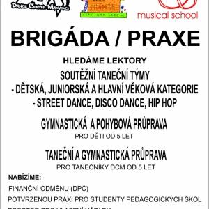 BRIGÁDA - PRAXE - LETÁK